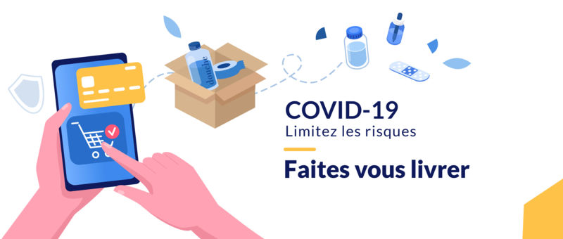 COVID 19 - Grande Pharmacie de Vals - Vals-les-Bains - 07600