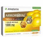 Arkoroyal Gelée royale 1000 mg Solution buvable 20 Ampoules/10ml à VALS-LES-BAINS