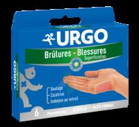 URGO BRULURES-BLESSURES PETIT FORMAT x 6 à VALS-LES-BAINS