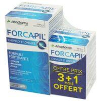 Forcapil Gélules croissance vitalité cheveux ongles B/180+60 à VALS-LES-BAINS