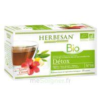 Herbesan Infusion Bio Tisane Détox 20 Sachets à VALS-LES-BAINS