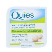QUIES PROTECTION AUDITIVE CIRE NATURELLE 8 PAIRES à VALS-LES-BAINS