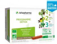 Arkofluide Bio Ultraextract Coffret programme détox 3x10 Ampoules/10ml à VALS-LES-BAINS