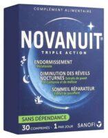 Novanuit Triple Action Comprimés B/30 à VALS-LES-BAINS