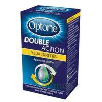 OPTONE DOUBLE ACTION Solution oculaire yeux irrités Fl/10ml à VALS-LES-BAINS