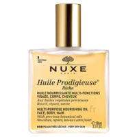 Huile prodigieuse® riche - huile nourrissante multi-fonctions visage, corps, cheveux100ml à VALS-LES-BAINS