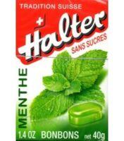 Bonbons sans sucre Halter menthe à VALS-LES-BAINS
