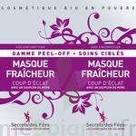 Secrets des Fées Masque Fraicheur Coup d'Eclat Peel-Off à VALS-LES-BAINS