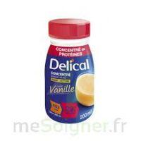 DELICAL BOISSON HP HC CONCENTREE Nutriment vanille 4Bouteilles/200ml à VALS-LES-BAINS