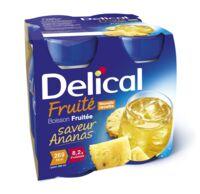 Delical Boisson Fruitee Nutriment Ananas 4bouteilles/200ml à VALS-LES-BAINS