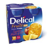 DELICAL BOISSON FRUITEE Nutriment multi fruits 4Bouteilles/200ml à VALS-LES-BAINS