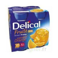 Delical Boisson Fruitee Nutriment Orange 4bouteilles/200ml à VALS-LES-BAINS