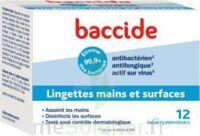 Baccide Lingette Désinfectante Mains & Surface 12 Pochettes à VALS-LES-BAINS