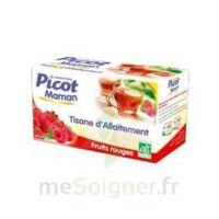 Picot Maman Tisane D'allaitement Fruits Rouges 20 Sachets à VALS-LES-BAINS