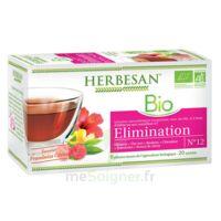 Herbesan Hibiscus Bio Tisane élimination 20 Sachets à VALS-LES-BAINS