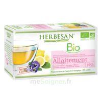 Herbesan Infusion Bio Tisane allaitement 20 Sachets à VALS-LES-BAINS