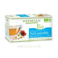 Herbesan Infusion Bio Tisane Relaxation Détente 20 Sachets