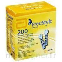 Freestyle Papillon Lancettes B/200 à VALS-LES-BAINS
