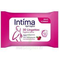 Intima Gyn'Expert Lingettes Cranberry Paquet/30 à VALS-LES-BAINS