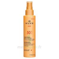 Spray Solaire Visage Et Corps Haute Protection Spf 50 Nuxe Sun150ml à VALS-LES-BAINS