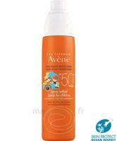 Avène Eau Thermale Solaire Spray Enfant 50+ 200ml à VALS-LES-BAINS