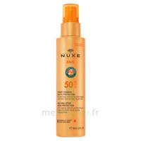 Nuxe Sun Spf50 Spray Fondant Visage Et Corps Fl/150ml à VALS-LES-BAINS